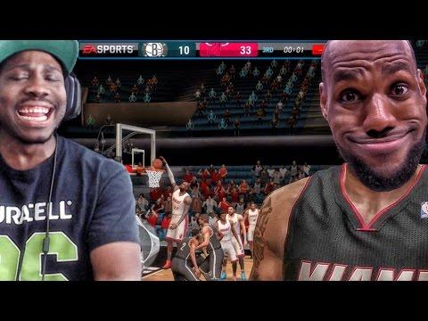 LEBRON JAMES DUNKS ON EVERYONE! NBA Live Mobile 16 Gameplay - Live 17 CANCELED Ep. 8