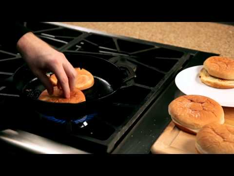 How to make a homemade burger &#8211; #8 Toasting burger buns  Appetites