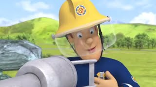 Fireman Sam US 🚒Uses the Water Cannon! | Best Rescue Compilation 🔥Kids Movie