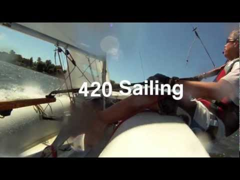 420 Sailing Heavy Wind