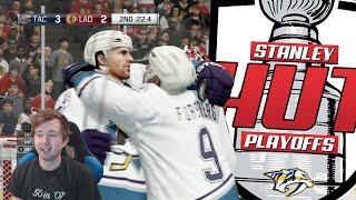 NHL 17 - STANLEY HUT PLAYOFFS | ROUND 1 vs CHICAGO