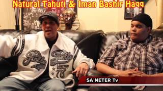 Natural Tahuti Vs  Imam Bashir Allah Or Allat  pt 1