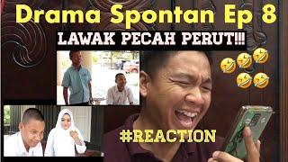 Drama spontan 8 : Disana menanti di sini menunggu #malayreact #kelantan #trending