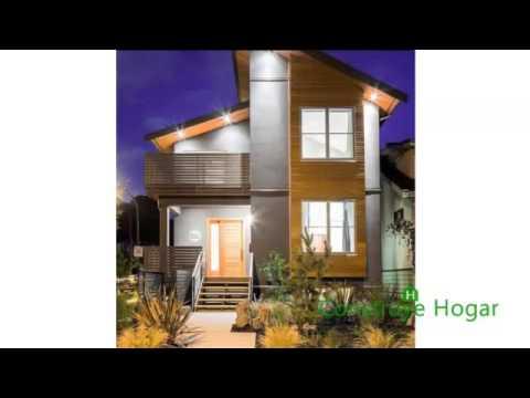 Fachadas de casas modernas facades modern houses youtube - Distribuciones de casas modernas ...