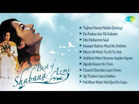 Best Of Shabana Azmi - Shabana Azmi Top Hit Film Songs - Music Box video