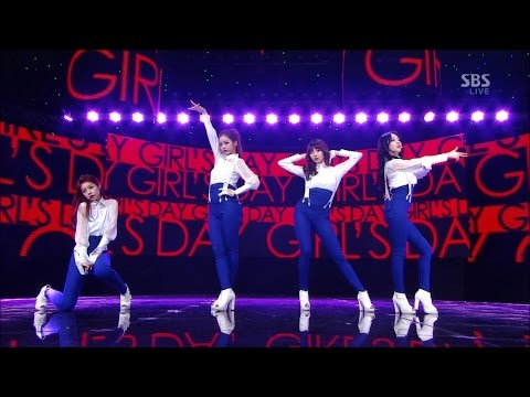 【HD繁體中字】 130324 Girl's Day - Expectation @  Inkigayo