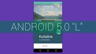 Android L 5.0 - Material Design And Features