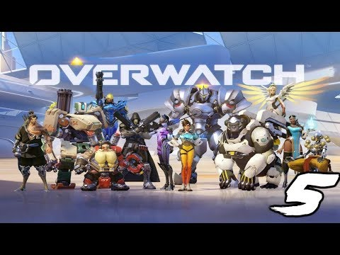 The FGN Crew Plays: Overwatch #5 - Tracer Takedown (PC)