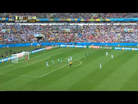 Lionel Messi All individual Highlights - (FIFA World Cup 2014) Argentina vs Nigeria 25/06/14 - HD