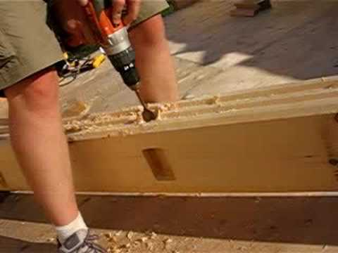 how to build a simple log cabin rh offgridquest com wiring a log home with a crawl space Build Log Cabin Homes