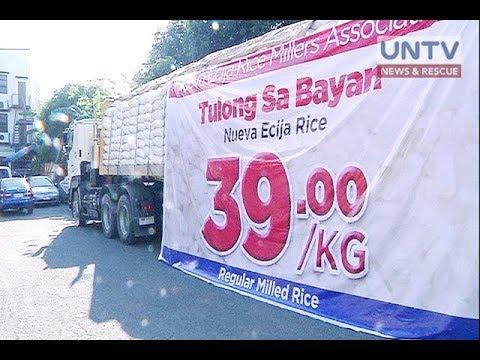 P39 per kilo na bigas mula sa mga traders, nasa Metro Manila na thumbnail
