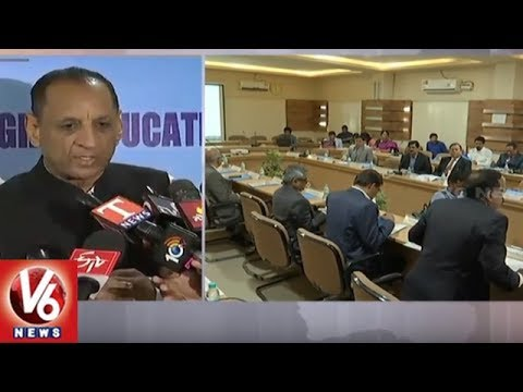 Versities Should Take Care Of Students, Orders Governor Narasimhan To VC's | V6 News