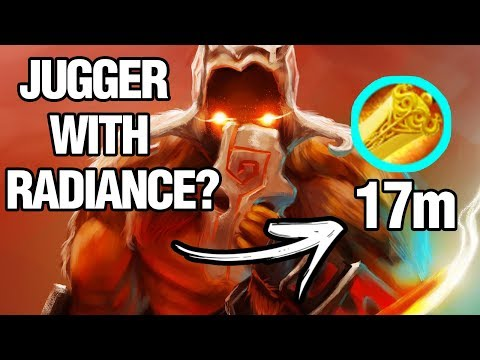JUGGER WITH RADIANCE? - Draskyl Plays Juggernaut - Dota 2