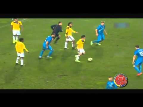 Eslovenia vs Colombia 0-1 Amistoso Internacional 2014