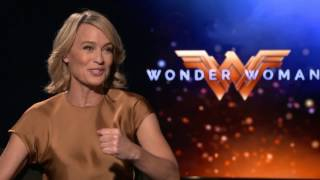 Robin Wright Wonder Woman Interview