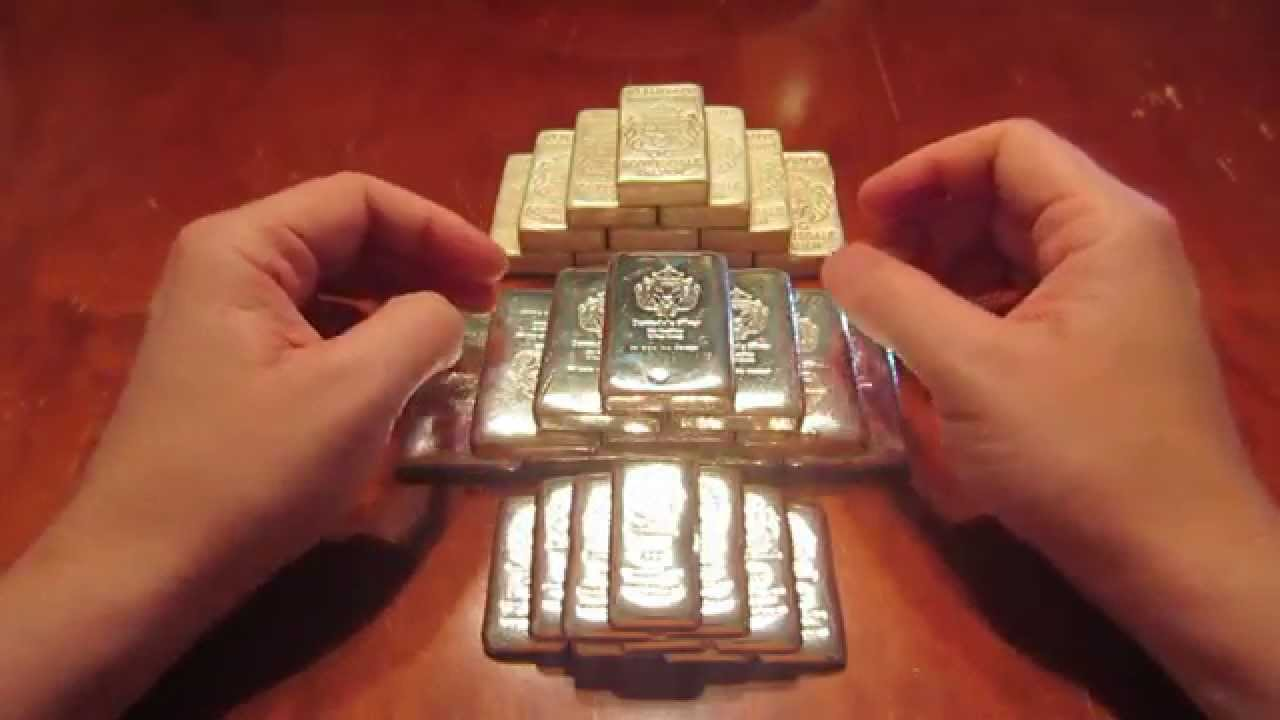 Adding More Scottdale Silver Bars To The Stack Youtube