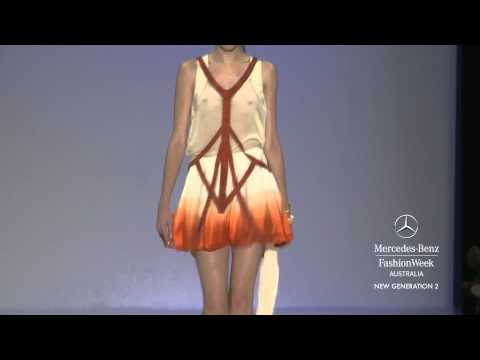 NEW GENERATION 2- MERCEDES-BENZ FASHION WEEK AUSTRALIA SPRING SUMMER 2012/13 COLLECTIONS