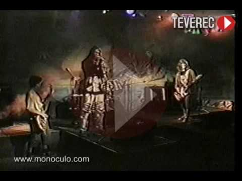 La Guardia Perdida TV Show Rock Uruguay 1998 TEVEREC
