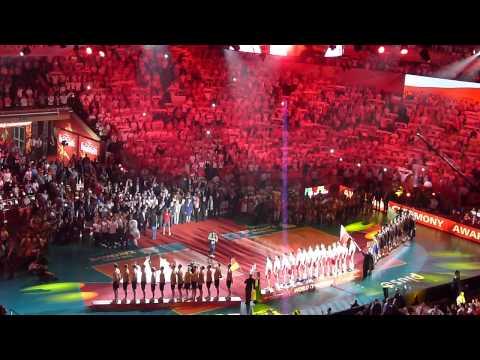 Mistrzostwa Świata W Siatkówce 2014 Hymn Polska FIVB Volleyball Men's World Championship Poland