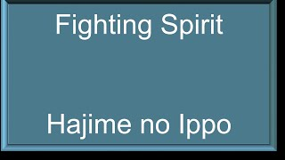 Hajime no ippo episode 73 Fighting spirit episode 73