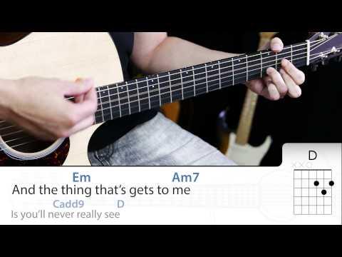 Animal Instinct Guitarra Cover DEMO con Acordes de guitarra