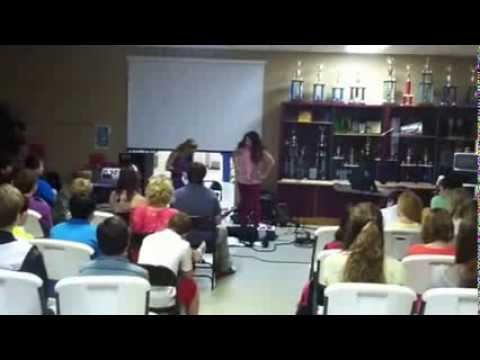 Drama presentation at East Hill Christian School
