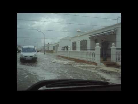 Temporal en la Antilla - 2 de Marzo de 2010 - Impresionante! - HD