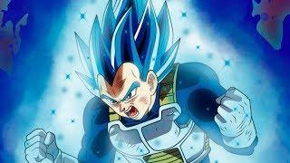 Super Saiyan Blue Evolution Vegeta Power and History REVEALED!