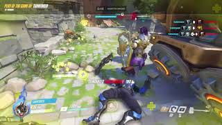 hi guys today i show u my play of the game