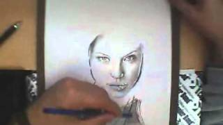Angelina Jolie - Speed Drawing