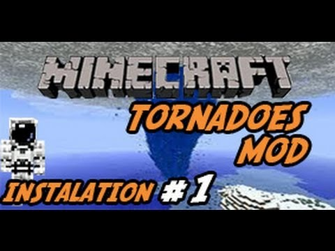 Minecraft 1.5 - How To Install The Tornadoes Mod! (HD)