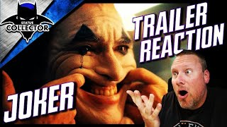 JOKER - TEASER TRAILER REACTION + THOUGHTS!! DC's Darkest Movie EVER!