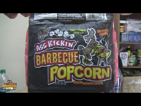 Don't Do That Chris - Ass Kickin' Barbecue Popcorn