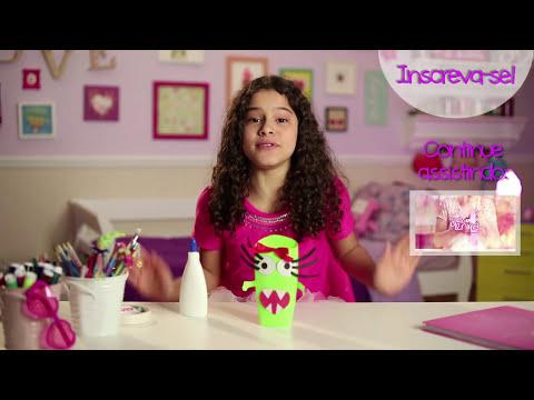 Porta lápis cheiroso com a Gabi Saraivah ❤ Mundo da Menina