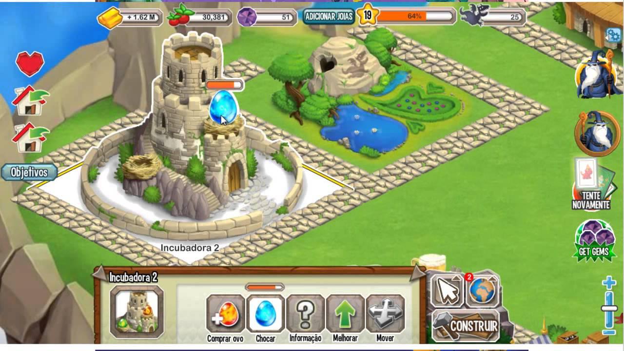 Dragon City Dragão Fogo Frio Como Fazer Dragão do Fogo Frio