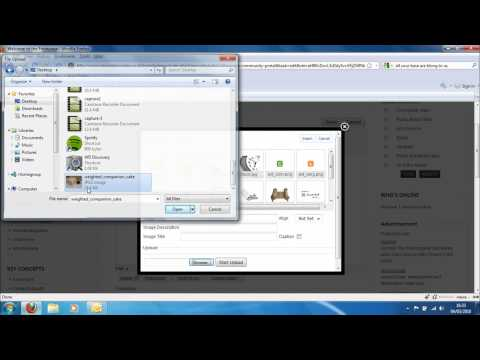 Opace Joomla Video Tutorials 5: How to Add Image Guide
