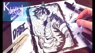 Speed Drawing DABI ( My Hero Academia ) Villain - Anime Manga Style - [ ??????????? ]