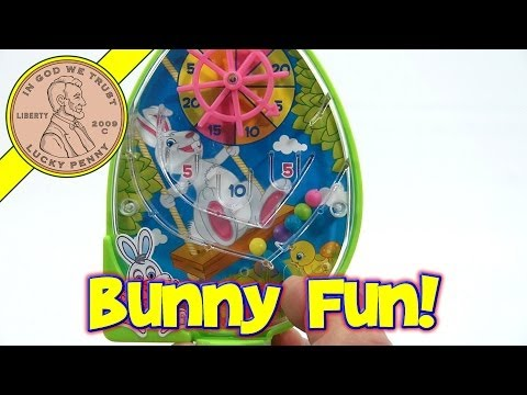 Easter Mini Handheld Bunny Game With Jelly Beans