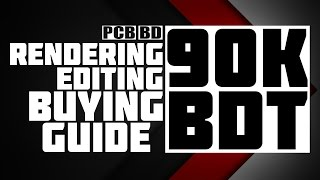 Editing & Rendering PC at 90,000 BD Taka | PC Configuration Buying Guide | PCB BD