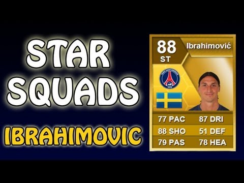 FIFA 13 - Star Squads - IBRAHIMOVIC - Squad Builder/Player Review
