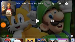 JTMX Reacts to: Luigi vs Tails- Rap Battle (by VideoGameRapBattles)
