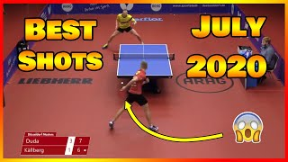 Best Table Tennis Shots of July 2020