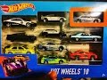 the fast and the furious Paul Walker cars collection Hot Wheels and more