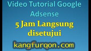 download lagu Tutorial Adsense - Cara Daftar Google Adsense 5 Jam gratis