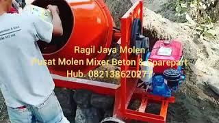Jual Molen Mixer Beton & Sparepart fast respon 082138620277 wa/call