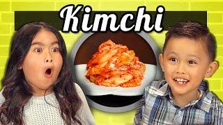 KIDS vs. FOOD #13 - KIMCHI