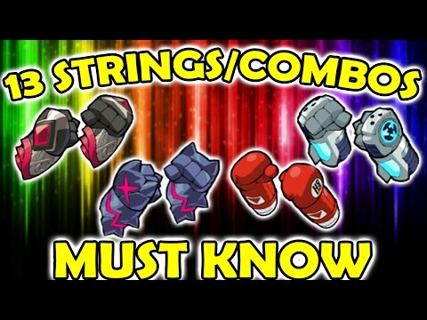 13 GAUNTLETS COMBOS/STRINGS YOU NEED TO KNOW - GAUNTLET RUSSIAN MAFIA - Brawlhalla