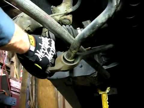 Replacing Lower Control Arm/Ball Joi