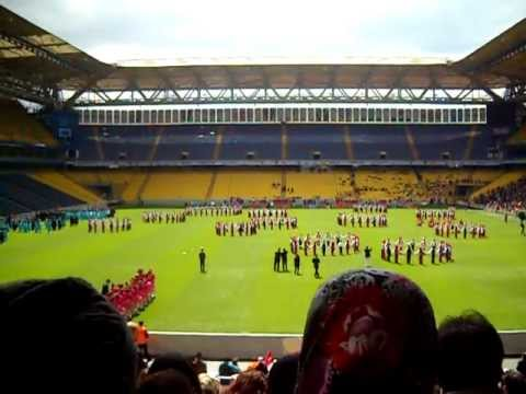 An american boys first view of turkish celebration at fenerbahce futbol stadium part 6 of 11