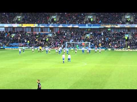 Charlie Austin Penalty Burnley 2-1 QPR